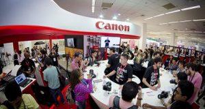Canon EOS SL2 -feira-fotografar-2018 stand empresa em 2017