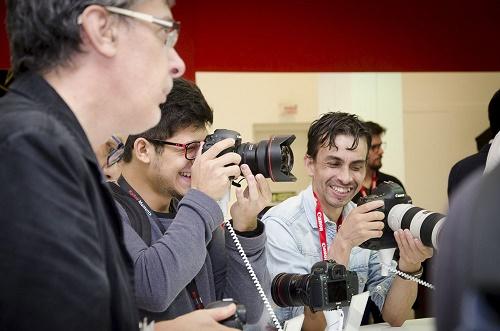 A feira Fotografar 2017 fotógrafos (público)
