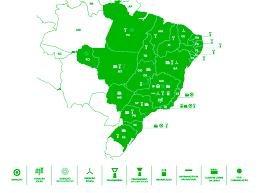 Cemig mapa de abrangência