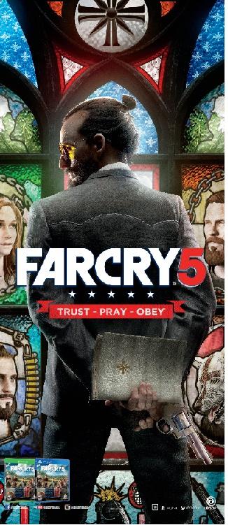 Far Cry série tem retorno com o Far Cry 5