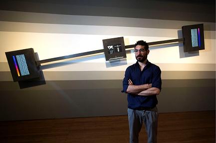 Artista espanhol Solimán Lopez no Festival de arte digital