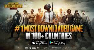 PUBG mobile game bate record em dowloads