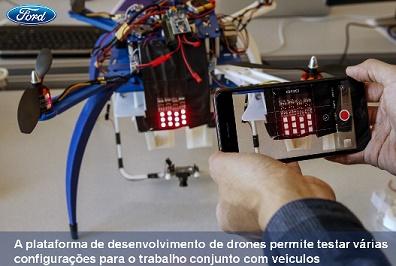 Carros e drones