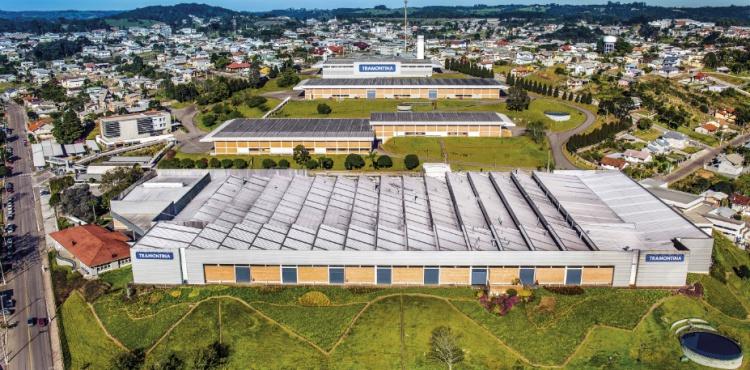 Complexo industrial Tramontina em Garibaldi RS