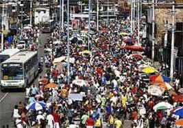 uma rua como a 25 de março ou o saara RJ