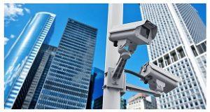 Curso CFTV - Câmeras instaladas - edifícios