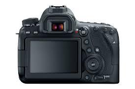 Câmera EOS 6Dvista trazeira