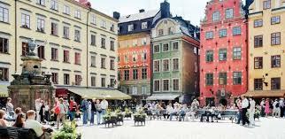 Cidade de Estocolmo capital da Suécia