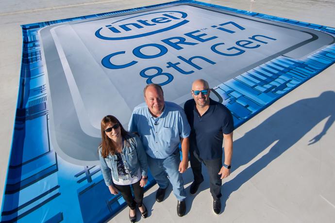 Intel Core i9 - equipe de diretoria da área de processaqdores