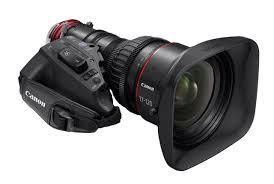 Lente Canon 4k para transmissões em HD