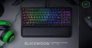 Teclado Razer BlackWidow Tournament Edition Chroma v2