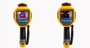 2 aparelhos termosensores Fluke que estará na Feimec