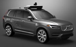Carro autônomo do Uber marca Volvo veículos Autônomos