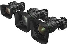 lentes Canon 4K 3 modelos para vídeo jornalismo