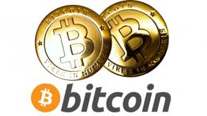 banner com o logotipo do bitcoins 2 moedas