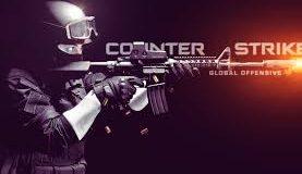 Banner do Conter Strike combatente com arma