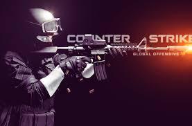 Banner do Counter-Strike combatente com arma