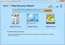 Banner com as funções do EaseUS software de recuperação de dados