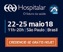 Banner divulgação da Hospitalar 2018