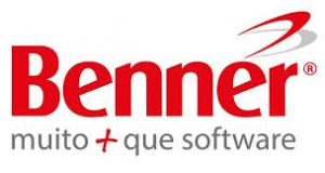 Logo da Benner empresa de software e TI