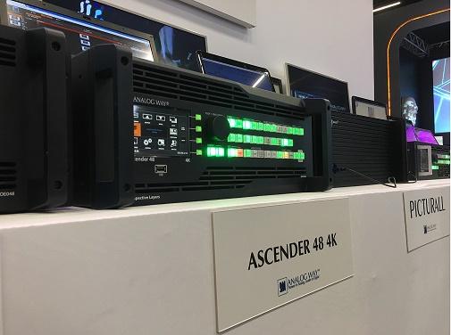 Estande da PGM áudio e vídeo