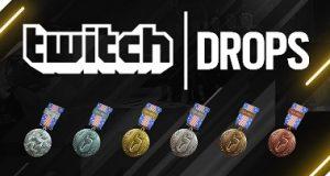 Banner da Twitch Drops que transmitirá o Raimbow Six