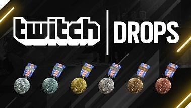 Banner da Twitch Drops que transmitirá o Rainbow Six