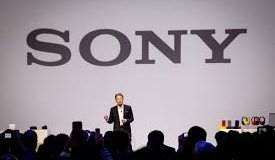 Palestra de lançamento da Sony