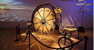 Obra de arte exposta em museu apreciada em VR Intel