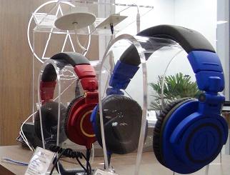 headphones da Audiotécnica