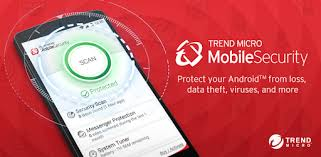 Caixa com Trend mobile security