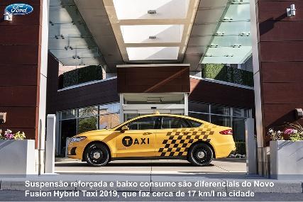 Ford Sedã modelos Híbridos versão taxi
