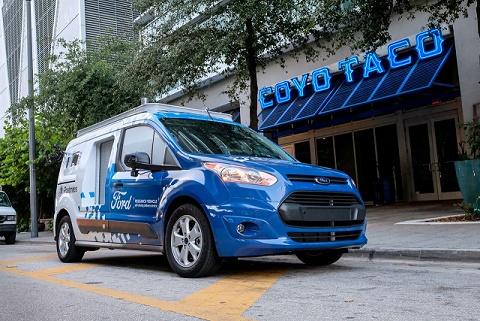 Ford Transit autônoma