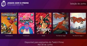 Free Games with Prime - Junho