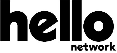 Logomarca do app hello que possui tribos online
