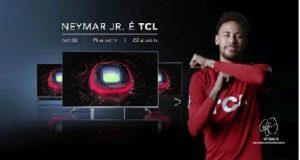 Neymar na propaganda da TCL