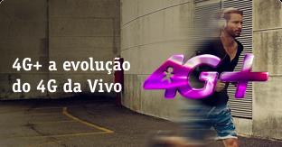 Banner da vivo evolução do 4G+