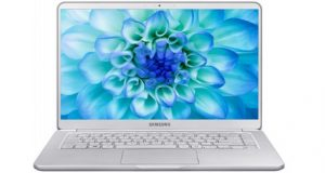 Notebook Samsung cor prata