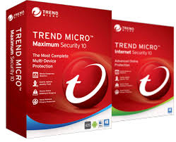 Caixdas de antivirus contra ameaças digitais da Trend Micro