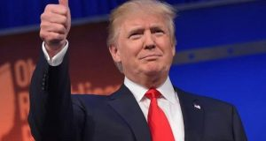 Presidente Americano Donald Trump Armada Espacial