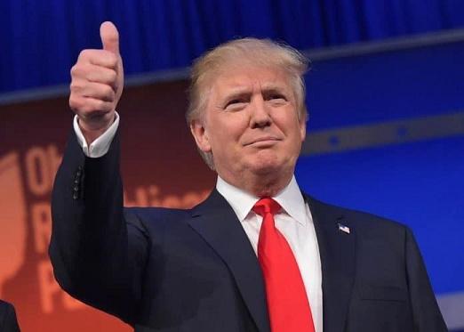 Presidente Donald Trump - dá ok para criação de  Armada Espacial
