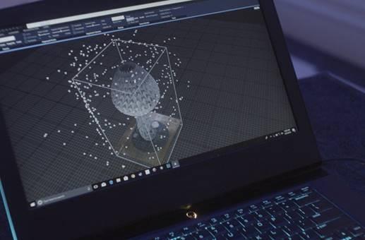 Arte em realidade virtual Intel e Smithsonian