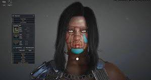 Uma personagem do Black Desert online