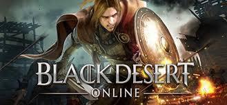 Cena com guerreiro do Black desert online