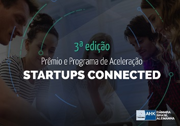 Banner da Startups connect