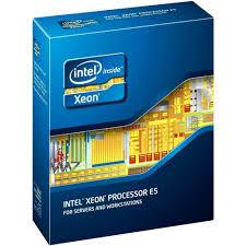 Caixa contendo o processador intel Xeon E