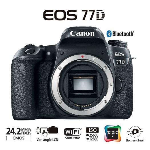 Câmera Cano EOS 77D
