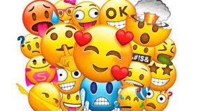 Banner com vários emoji