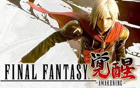 Cena do game Final Fantasy Awakening