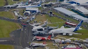 Panorâmica da Farnborough Air Show
